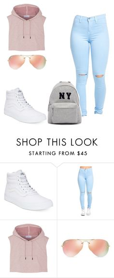 """Untitled #288"" by shavelle-xo on Polyvore featuring Vans, adidas, Ray-Ban, Joshua's, women's clothing, women, female, woman, misses and juniors"