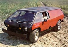 c1970 Brubaker Box - Built on a VW chassis with only a single sliding side door entrance, it was the inspiration for the designers of Chrysler's first minivan.