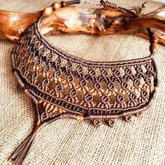 New necklace #macrame #jewelrysale #yewelry #micromacrame #ethnicnecklace #uniquegifts #original #art #necklaceforsale #uniquedesign #bohemianstyle #love #originaljewelry #macramenecklace #lovemacrame #adjustablenecklaces #giftforwomen