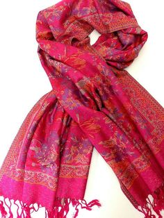 Check out this item in my Etsy shop https://www.etsy.com/listing/270039067/pink-pashmina-scarf-oversized-scarf