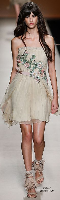Alberta Ferretti SS2015 Women's Fashion RTW | Purely Inspiration