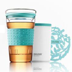 360ml Vatiri Clear Glass Water Mug Tea Cup & Tea Filter Infuser Anti-slip Sleeve