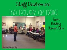 Principal Principles: The Power of Data and Teambuilding