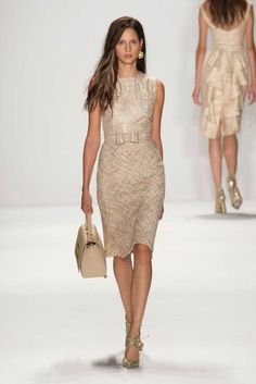 Badgley Mischka Spring/Summer 2015 | Fashion, Trends, Beauty Tips & Celebrity Style Magazine | ELLE UK