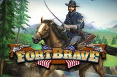 Fort Brave - Mit dem Slot #FortBrave wagten sich Merkur & Bally Wulff an ein ganz besonderes Projekt. Denn im Zentrum der Thematik steht der amerikanische Bürgerkrieg mit all seinen Besonderheiten. Wieder einmal beweisen die Entwickler. https://www.spielautomaten-online.info/fort-brave/