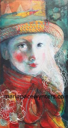 Out Of The Shadows- Original painting by Maria Pace-Wynters