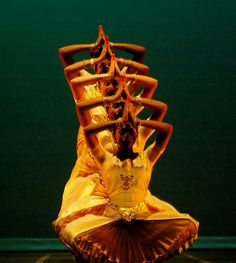 Kuchipudi, classical Indian dance from the Indian state of Andhra Pradesh.