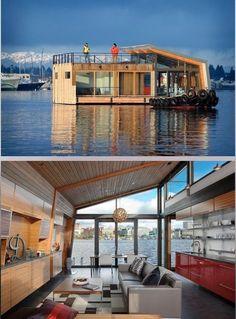 Great houseboat