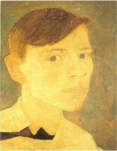 Self Portrait - Jan Mankes