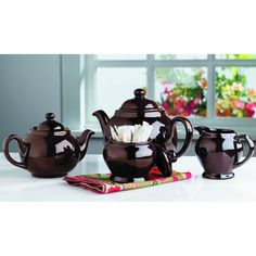 Brown Betty Set Brown Betty, High Tea, Teacups, Drinking Tea, Afternoon Tea, Scones, Cup And Saucer, Tea Time, Tea Pots