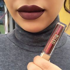 How gorgeous 💋💄 is this shade tho 👉🏽@milanicosmetics Amore Matte Metallic…