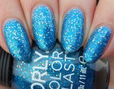 Orly Color Blast - Azure Gloss Glitter