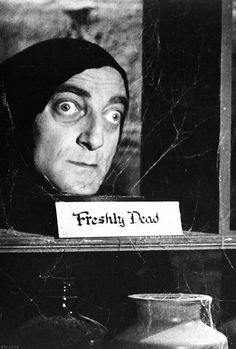 Marty feldman in the Young Frankenstein
