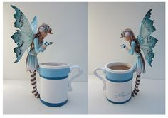 FIGURINES - Coffee and Tea Faeries - Amy Brown Fairy Art - The Official Gallery