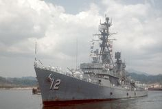 September 13, 1967     The USS Robison (DDG-12) on Operation SEA DRAGON was hit by enemy coastal defense site north-northwest of Dong Hoi. No casualties reported and light damage.