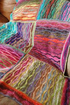 , free crochet pattern by Tracy St. John, using Noro Silk Garden Sock ...