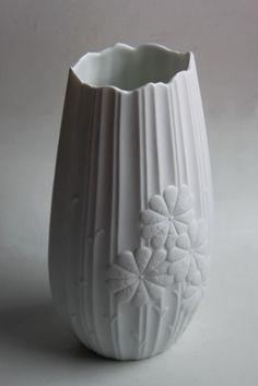 Vintage German Op Art Vase (2) - Kaiser 70s