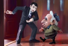 political caricature