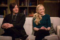 emily kinney and norman reedus 2014 - Google Search