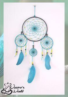 #dreamcatcher #turquoise #black #nyamasworld