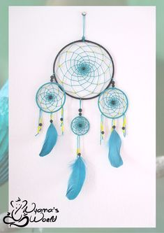 #dreamcatcher #turquoise #black #nyamasworld