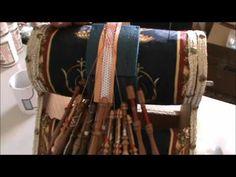 Bolillos: Trabajar con hilo y alambre - YouTube