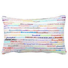 Drexel Hill Text Design II Lumbar Pillow