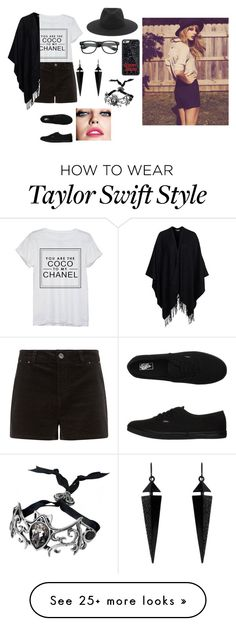 """""""April"""" by briquel1328 on Polyvore featuring moda, rag & bone, Chanel, Vans, Glamorous, Oasis e Maybelline"""