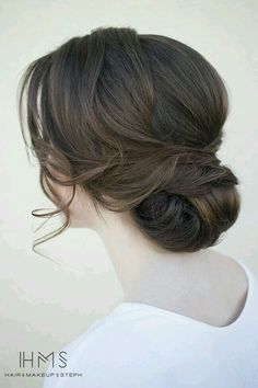 Bridal updo hairstyle