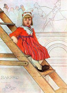 Barbro - (Carl Larsson)