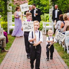 Set of 3 Wedding Signs Here Comes the Bride Sign + Hooray Sign + Hurry Up I Want Cake Sign Ring Bearer Banner Flower Girl Page Boy Wedding Ceremony Ideas, Wedding Signs, Our Wedding, Wedding Photos, Dream Wedding, Wedding Flags, Cake Wedding, Kids In Wedding, Trendy Wedding