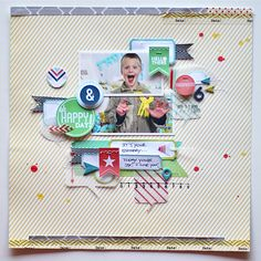 Happyday4 | Layout of the Week | March 16 2013