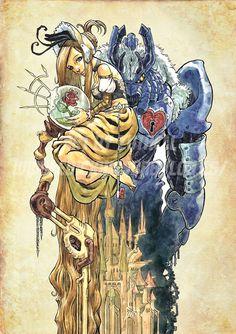 "Steampunk Beauty and the Beast ~ Marcel Pérez aka ""Zuthell"""