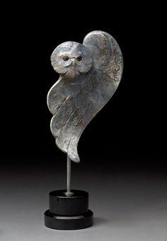 Arctic Ghost, Owl Art by Tim Cherry