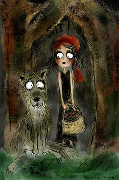 """Cryptia """"little red riding hood"""" can handle the big bad wolf (via Cryptia)"""