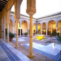 The magnificent Parador, Carmona, Spain