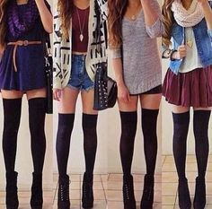 69927f3777b 53 Best knee high socks outfit ideas images