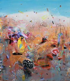 150/130 cm, mixed media on canvas