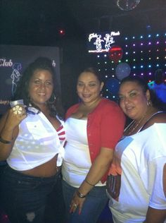 "BBW & BHM Club Plush Tampa ""Red, White & Blue Independence Party"" 7.06.13. Next event is July 27th."