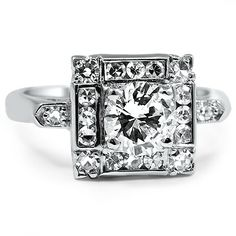 The Eridian Ring #BrilliantEarth #Vintage