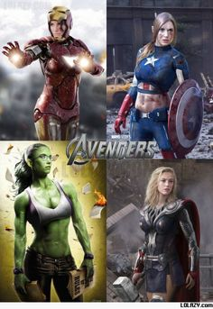 The Female Avengers: Now this is awesome!