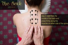 Pin it! 3 Massage tips for neck, shoulders and back