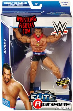 Rusev - WWE Elite 34 | Ringside Collectibles