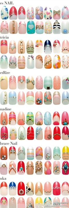 Opting for bright colours or intricate nail art isn't a must anymore. This year, nude nail designs are becoming a trend. Here are some nude nail designs. Cute Nail Art, Beautiful Nail Art, Cute Nails, Pretty Nails, Beautiful Boys, Es Nails, Hair And Nails, Nail Diamond, Nails Decoradas