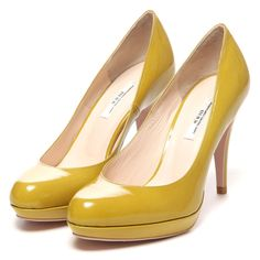 [ SEVEN TWELVE THIRTY ] allweather pumps (yellow)