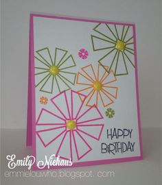 Today'challenge was to make a one or two layer card. Two layers of paper for me today!  TFL!