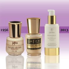 Royal Jelly Milk Balm has been Jafra's premier product since 1956! The heart of the company, healing, smoothing and nurishing your skin with 24 hr. time release!   All products are direct ship available on the website 24/7. Www.myjafra.com/sstrauss