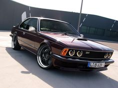 BMW E24  This kit is sinister. In a very good way.  Love the LEDs.
