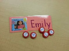 Learning the letters in our names! www.prekpartner.com