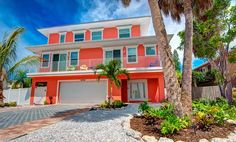 Coral Cove, 206 N. Harbor Drive, Holmes Beach, Fl 34217, Coral Cove is a brand new, bright and cheery 4 bedroom and 3.5 bathroom home located just a short 3 minute walk away from...